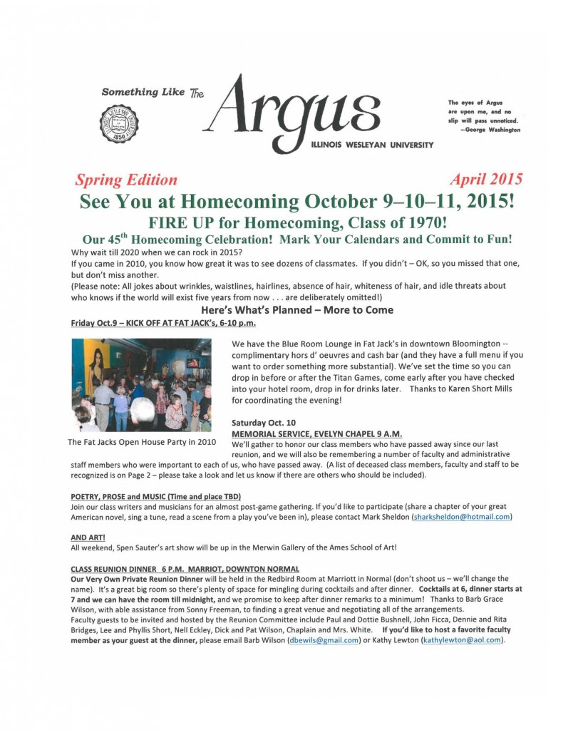 Something Like the Argus Class of 1970 April 2015  Word 4-22-15 page 1