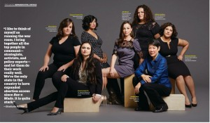 Shailushi Ritchie '98 (far right) was featured in San Francisco Magazine's 2016 power issue.
