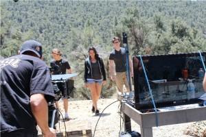 Daniel George 09 on set 2