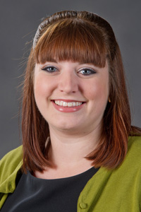 Faculty and staff head shots. Kimberly Stabosz, Admissions Counselor.