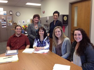 Winners of the 2013 Mini Grant in the Spring 2013 Grant Writing Class!