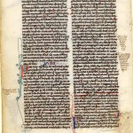 Medieval manuscript Bible