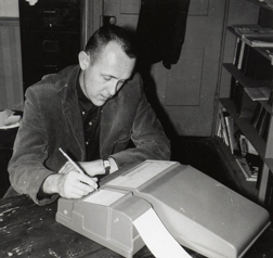 Psychology's first chair, Roger Ulrich, ca. 1960