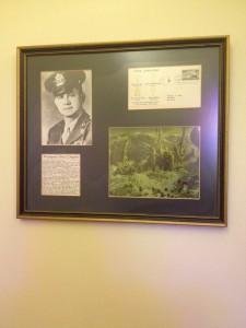 Plaque commemorating George L. Fox