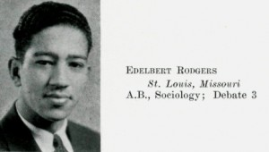 Rodgers' Senior Class photo from the 1934 Wesleyana