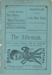 Cover page of this Athenian issue.