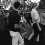 1969 IWU Students with ISU Victory Bell