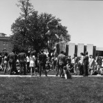 BSU sponsored walkout. This attribution and the date were only recently discovered in the fragment of a Senate Meeting record.