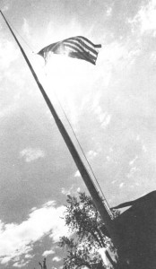 1971Wesleyana_flagpole