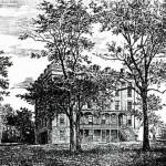 Sketch of Henrietta Hall Found in RG 18-1/17/Henrietta Halll