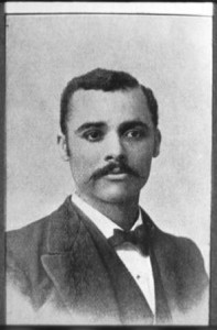 Alfred O. Coffin, an early African-American graduate of the University, was born to slave parents and went on to become a teacher and college professor. From Continuity and Change, 1850-2000 by Minor Myers, jr. and Carl Teichman.