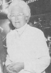 Dr. Emily Dunn Dale, 1988