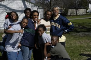 BSU-Minority Alumni Network Picnic April 2, 2005
