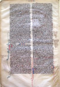 1220 Bible created in England
