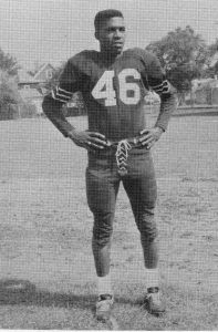 Luther Bedford in football uniform