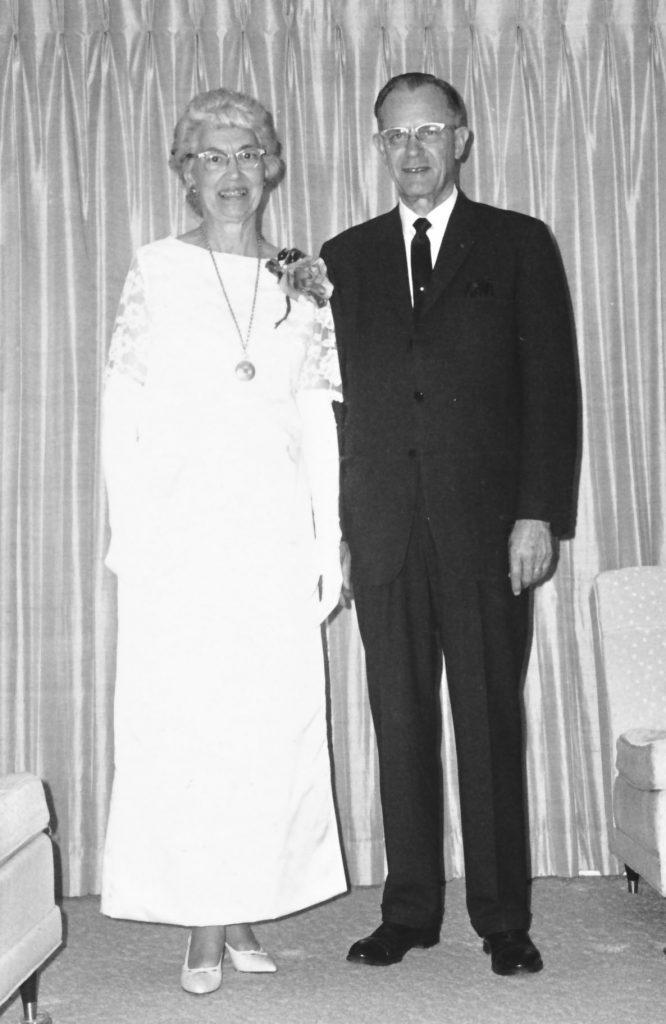 President and Mrs. Bertholf