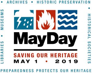 May Day 2019 logo from SAA