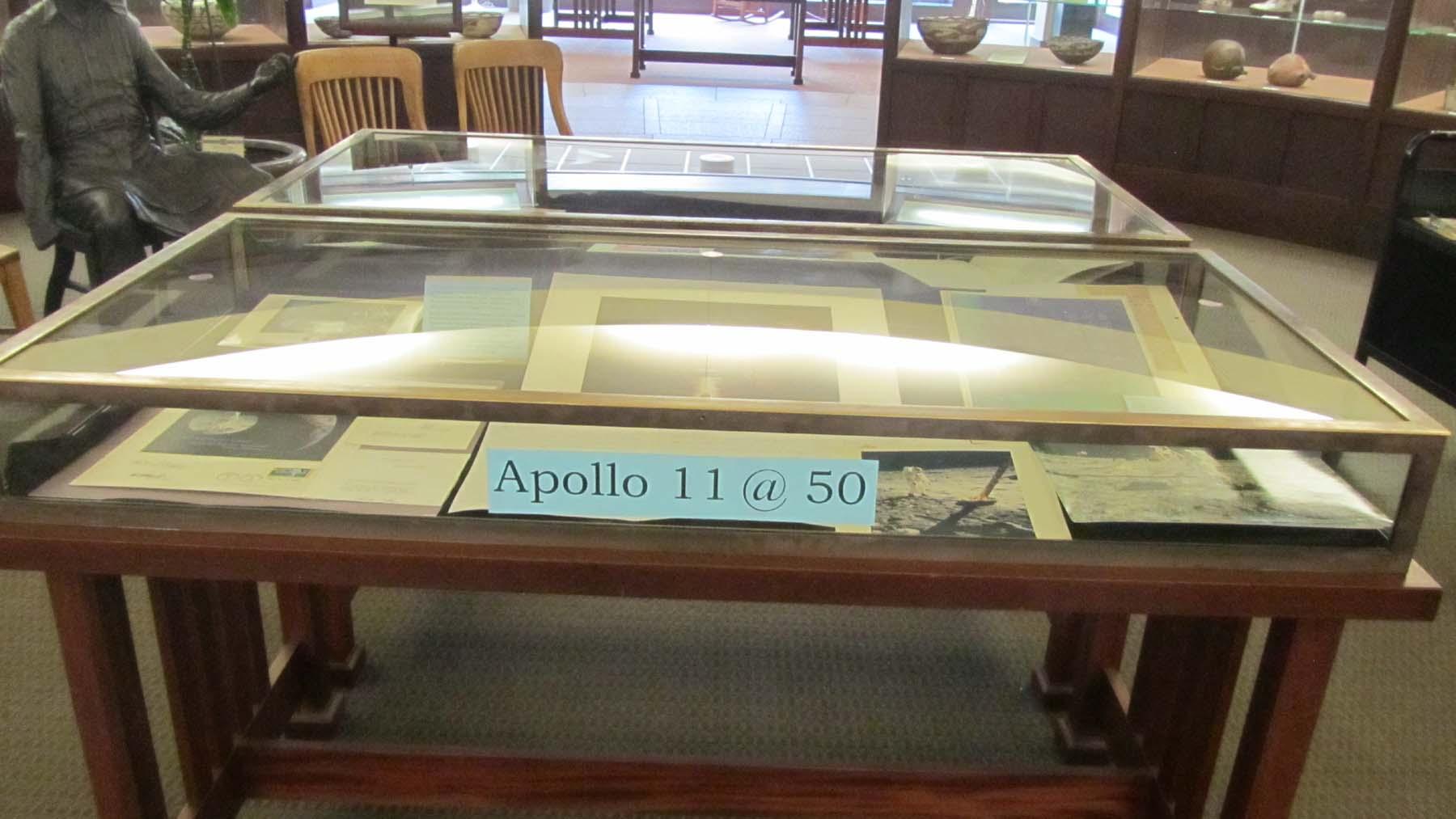Apollo 11 exhibit location in JWP Rotunda