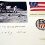Apollo 16 phoo and commemorative items