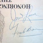 autograph close up