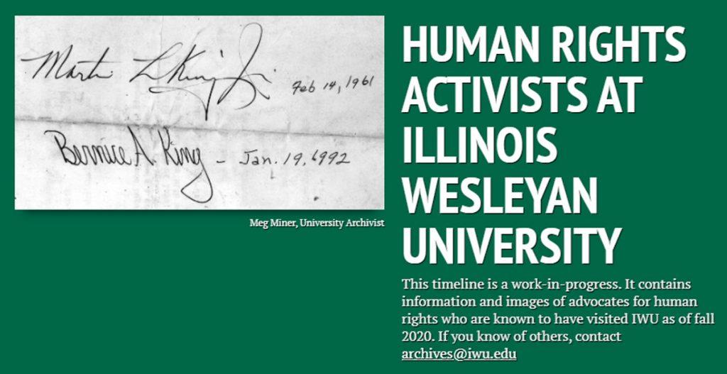Human Rights Activists @IWU