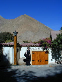Linda French in Pisco Elqui