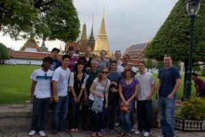 At the Royal Palace in Bangkok