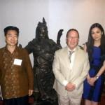 With the Guan Gong at Aneka Gas