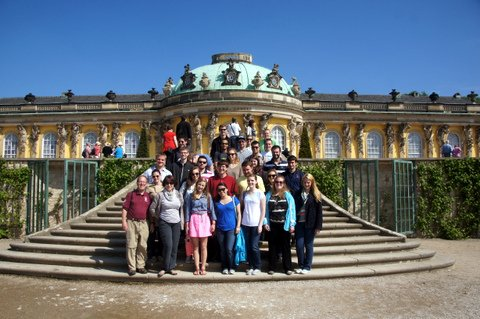 A carefree day at Sans Souci