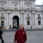 Outside the Presidential Palace, Santiago