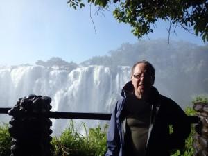 The Victoria Falls!