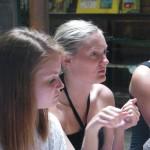 Sarah & Sara:  Aromatherapy