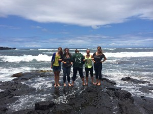 Inseperables at Black Sand