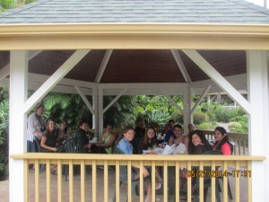 Lunch at Puuanalu Bakery