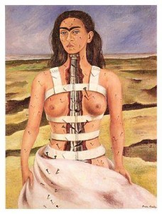 Kahlo painting