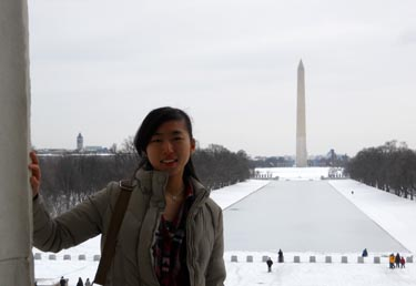 Karen and the Washington Monument