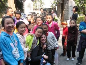 Cassie in China