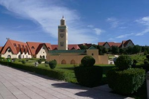AUI Campus with Mosque Tower