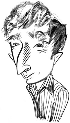 John Updike by Tom Bachtell