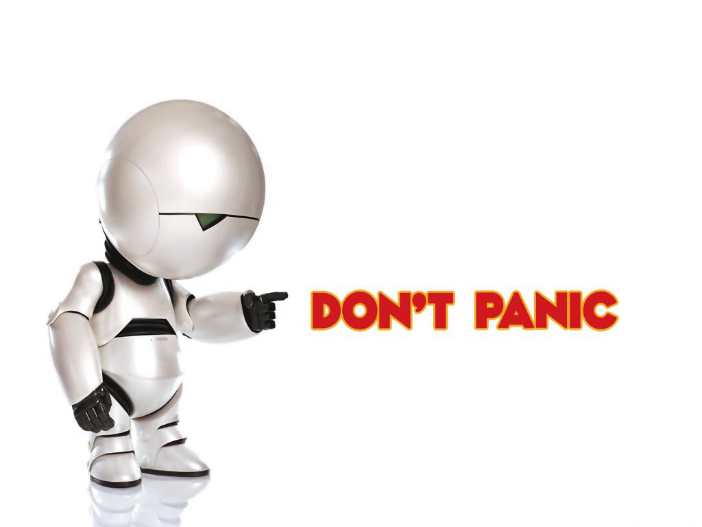 Don't Panic - Ames is here to help.