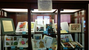 Library Display  in Honor of Children's Author and Illustrator Anita Lobel