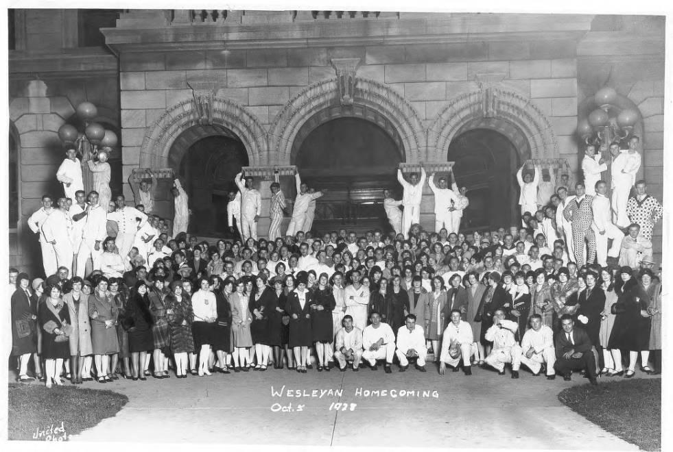 """Pajama Games"" Homecoming 1928."