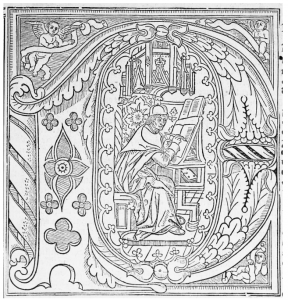 Bodlein Library coloring page