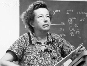 MARIA GOEPPERT MAYER (1906 – 1972)