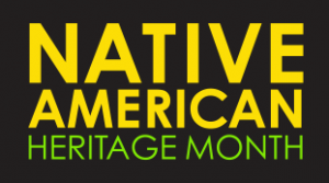 Banner for Native American Heritage Month