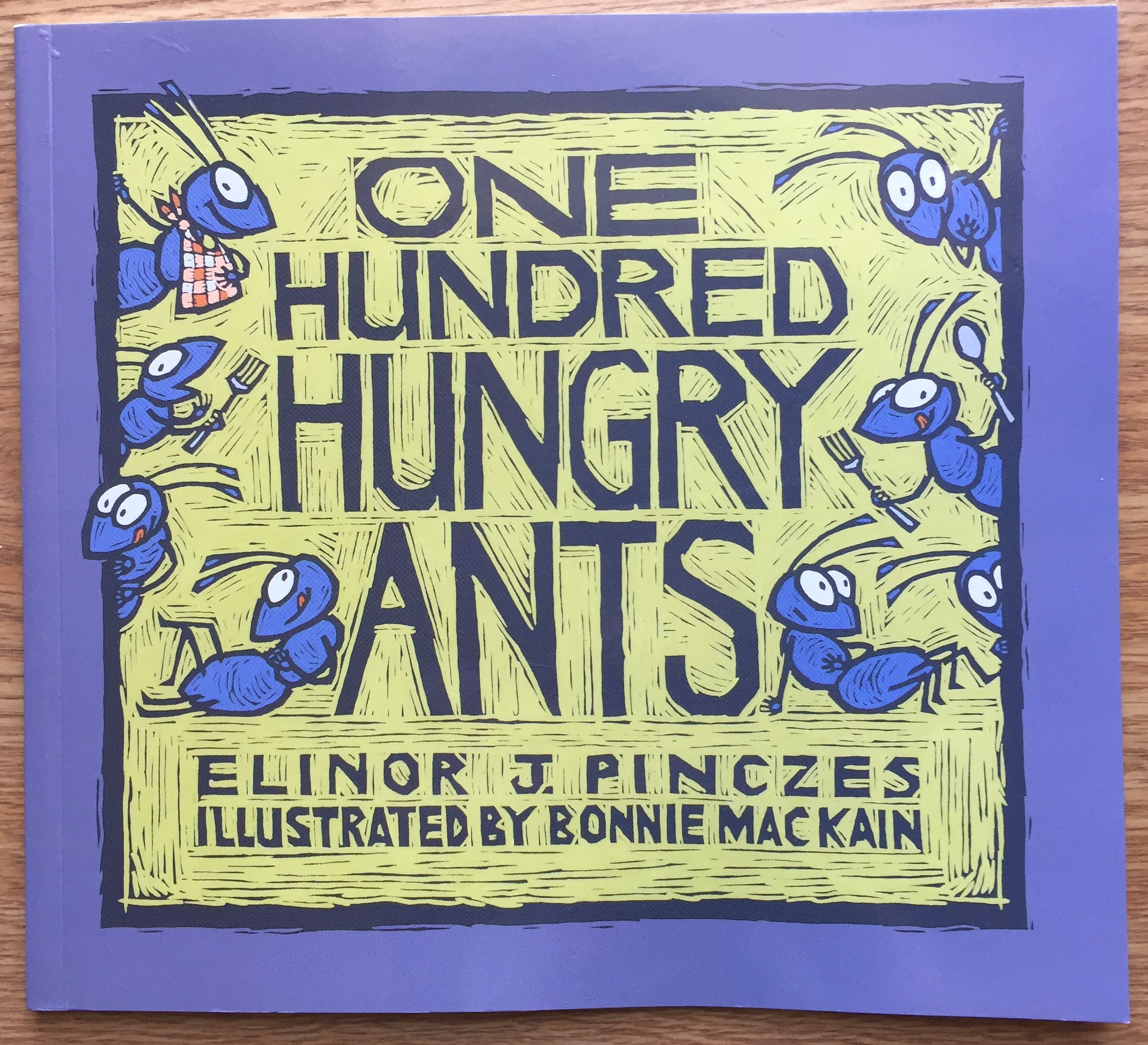 100 hungry ants cover